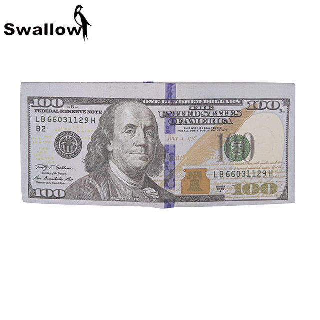 Fashion Currency Wallet Women Luxury Brand Short Mens Wallet And Purse With Coin Purse Dollar 100 Euro Rubble 5000 Pound 50