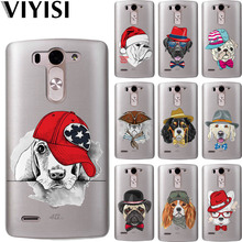 VIYISI Soft TPU Cute dog Animals For LG G4 G5 G6 Q8 Q6 K8 K7 K4 2017 K10 X Power 2 Phone Case Back Cover Coque Shell