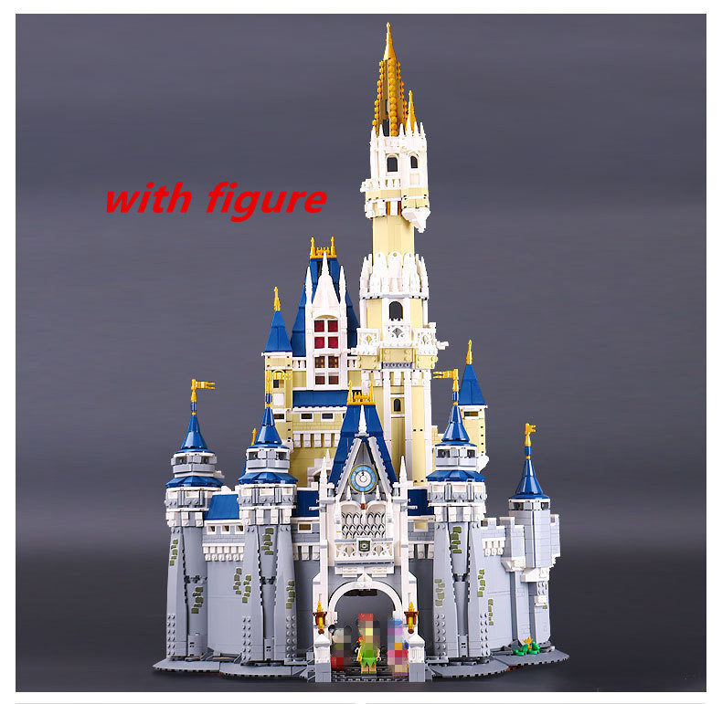 Lepin 16008 lepin Cinderella Princess Castle Building Block Compatible legoing 71040 legoing Cinderella Princess Castle set cinderella cinderella night songs