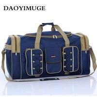 Oversize short haul travel bag ladies' bag long haul folded travel bag men's waterproof luggage