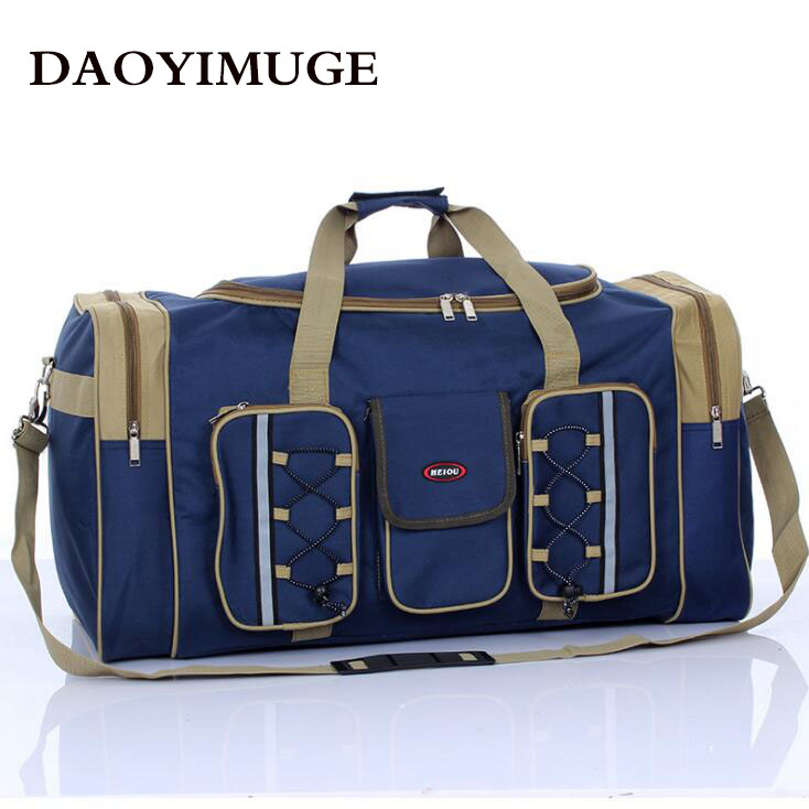 Oversize Short-haul Travel Bag Ladies' Bag Long-haul Folded Travel Bag Men's Waterproof Luggage