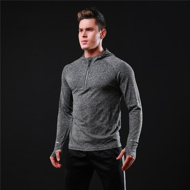Quick-Dry Men's Sweater for Sports and Fitness