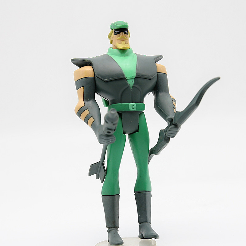 JUSTICE LEAGUE UNLIMITED DC Universe Green Arrow JLU Super Hero  Action Figures Toys JUSTICE LEAGUE UNLIMITED DC Universe Green Arrow JLU Super Hero  Action Figures Toys