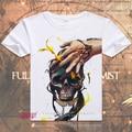 Fullmetal Alchemist Anime Cool T Shirt Tee Verano de Manga Corta Camiseta Tops Unisex Cosplay S-XXXL