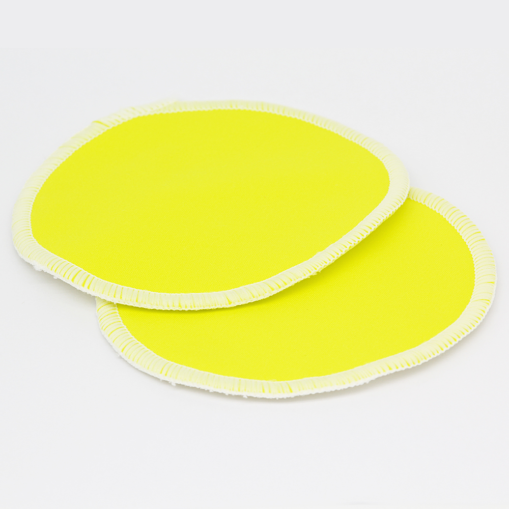 10PC Organic Bamboo Breast Pad Nursing Pads Solid Color For Mum Waterproof Washable Feeding Pad Bamboo Stay Reusable Breast Pad - 5
