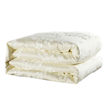 Luxury Summer comforter Mulberry Silk Filling Duvet Quilted Quilt Winter Warm Comforters King Queen Size Bedding Quilts
