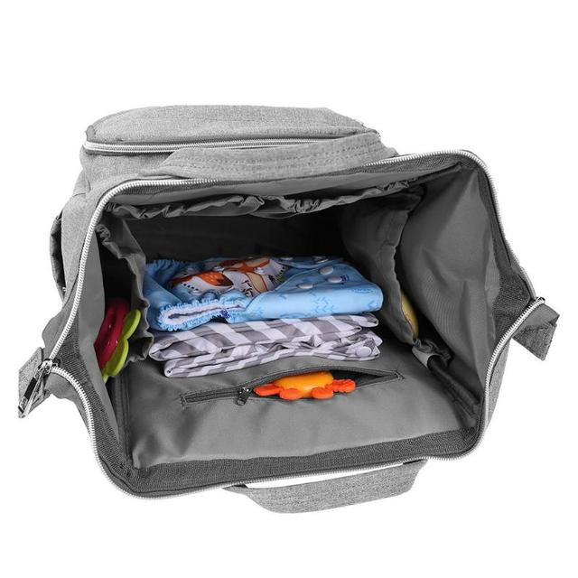 Large Capacity Portable Diaper Backpack