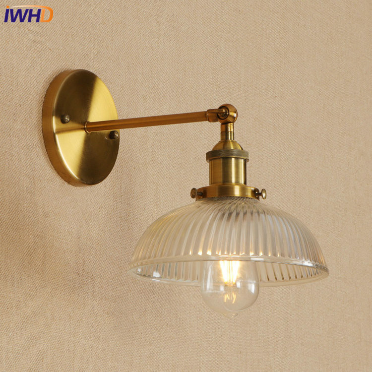 IWHD Glass Edison LED Wall Lamp Iron Adjustable Loft Style Wandlamp Retro Bathroom Light Home Lighting Applique Murale LuminaireIWHD Glass Edison LED Wall Lamp Iron Adjustable Loft Style Wandlamp Retro Bathroom Light Home Lighting Applique Murale Luminaire