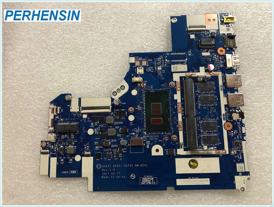 DG421 DG521 DG721 NM-B241 Mainboard for Lenovo for IdeaPad 320-14IKB Core i5-7200U DDR4 4GB RAM motherboar 100% WORK PERFECTLYDG421 DG521 DG721 NM-B241 Mainboard for Lenovo for IdeaPad 320-14IKB Core i5-7200U DDR4 4GB RAM motherboar 100% WORK PERFECTLY
