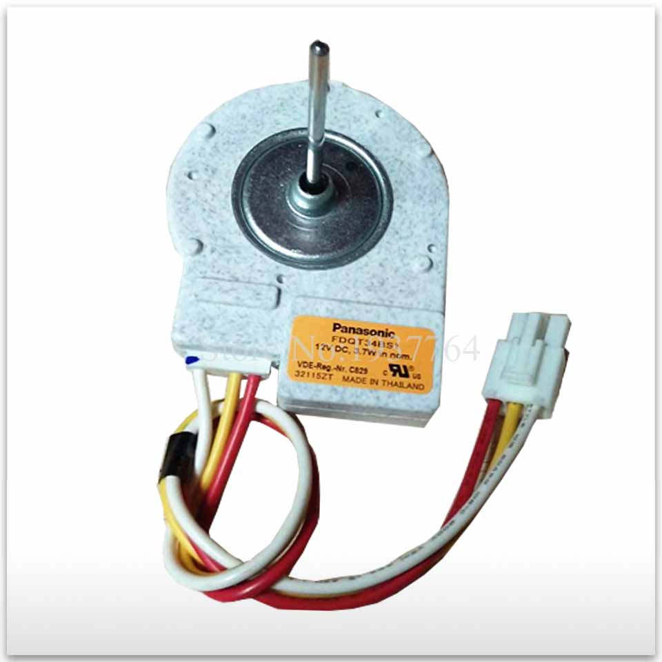 good working High-quality for Refrigerator motor freezer motor FDQT34BS1 12V DC for refrigerator freezer zwf 02 2 12v dc refrigerator fan motor