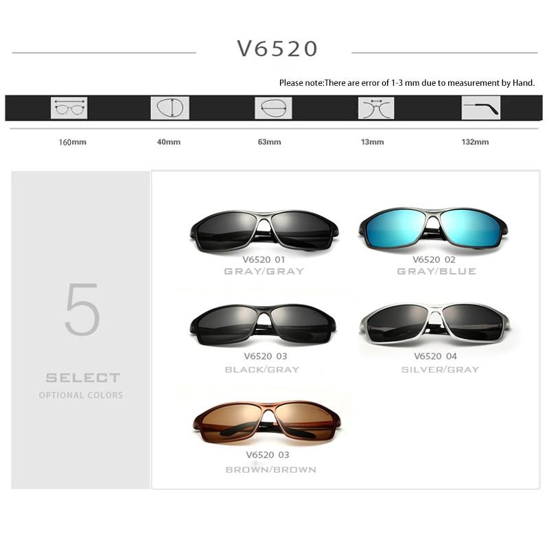 VEITHDIA Brand Designrt Polariserade Aluminium Magnesium Mäns - Kläder tillbehör - Foto 5
