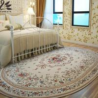 Lanskaya Carpet Large Living Room Carpets Camel Bedroom Rugs Tea Table Oval Floor Mat 160X230 200X250 200X290 CM