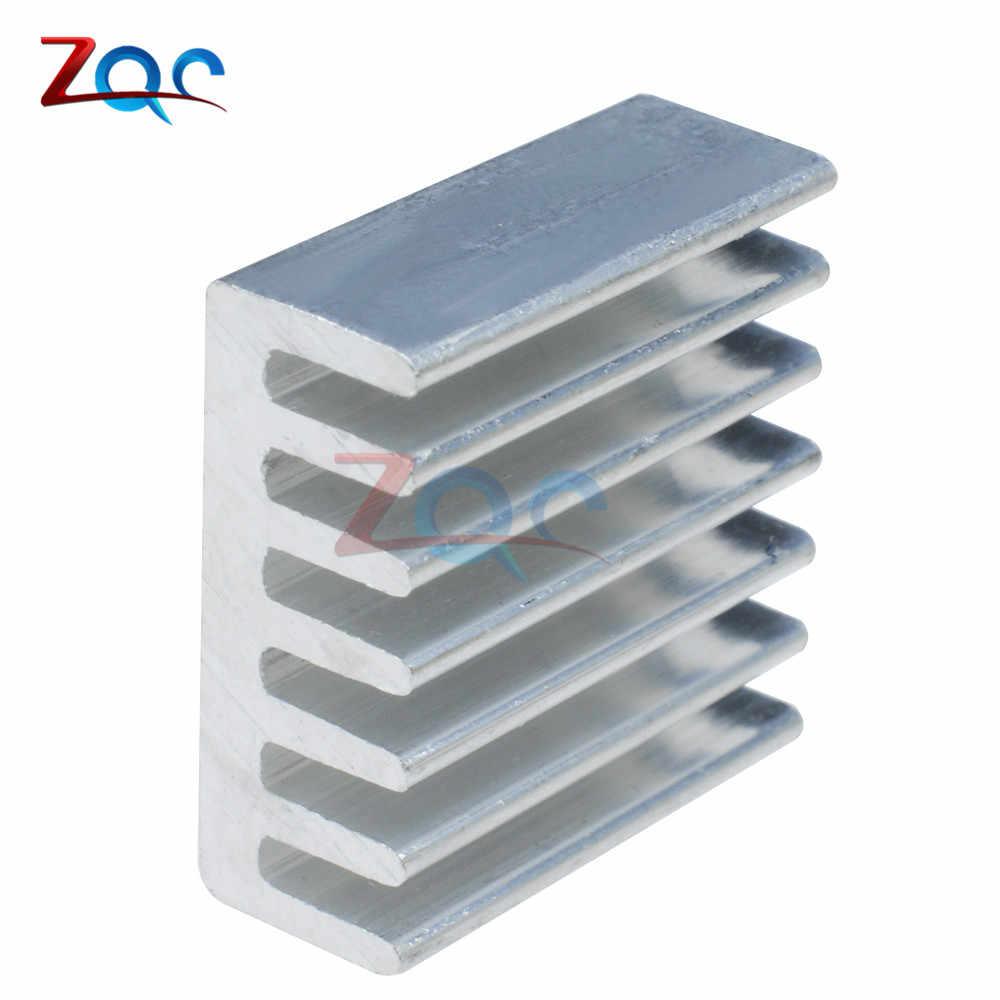 10 個 DIY LED 電力メモリチップ IC 高品質 14 × 14 × 6 ミリメートルアルミヒートシンク 14*14*6 ミリメートル