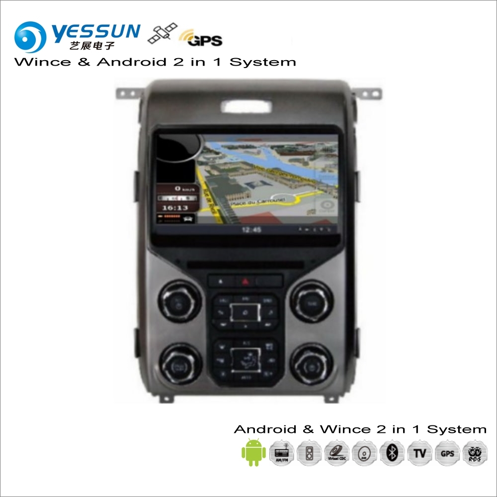 YESSUN For Ford F-150 F 150 2013~2015 - Car Android Multimedia Radio CD DVD Player GPS Navi Map Navigation Audio Video Stereo yessun for mazda cx 5 2017 2018 android car navigation gps hd touch screen audio video radio stereo multimedia player no cd dvd