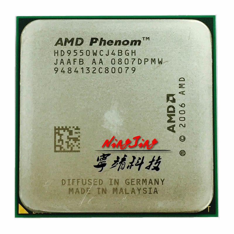 Giá AMD Phenom X4 9550 2.2 GHz Quad-Core CPU Processor HD9550WCJ4BGH Socket AM2+