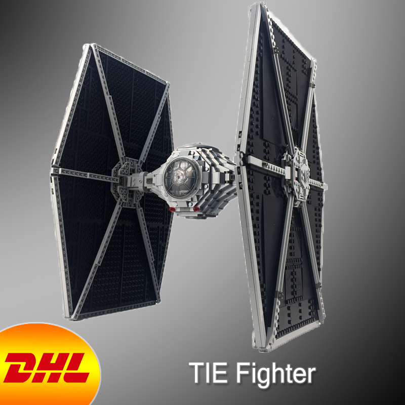 HF Star Wars Figures 1685Pcs The TIE Fighter Model Building Kits Blocks Bricks Hot Toys For Children Gift Compatible With 75095 kazi 608pcs pirates armada flagship building blocks brinquedos caribbean warship sets the black pearl compatible with bricks