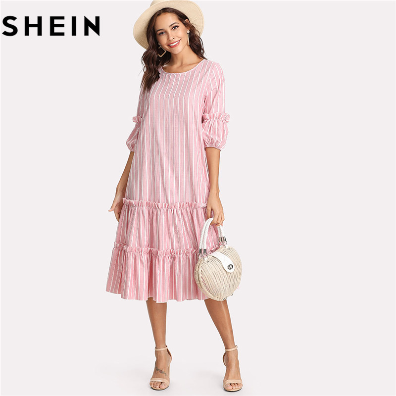 321811561346 Buy frilling dress pink and get free shipping on AliExpress.com