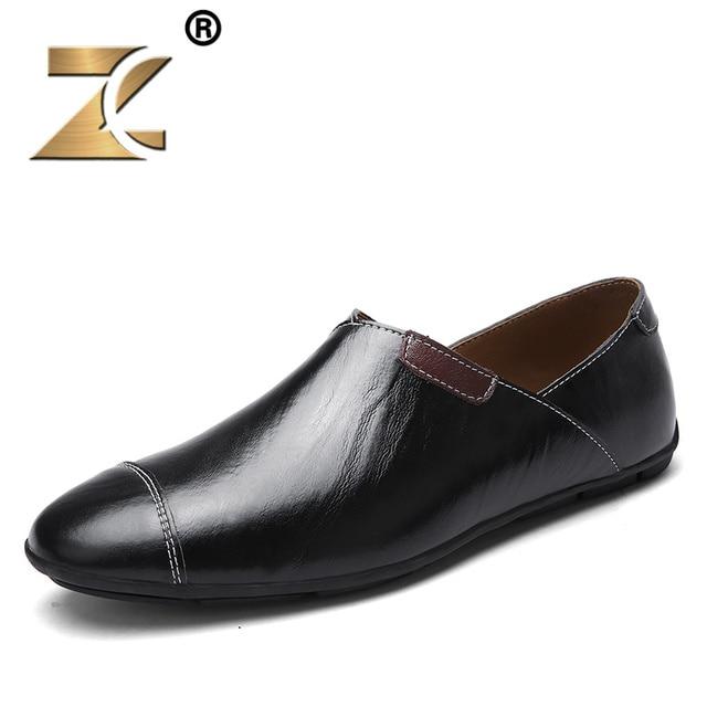De Occasionnels Z Hommes Marque 2017 Cuir Chaussures Luxe En EwqZwR