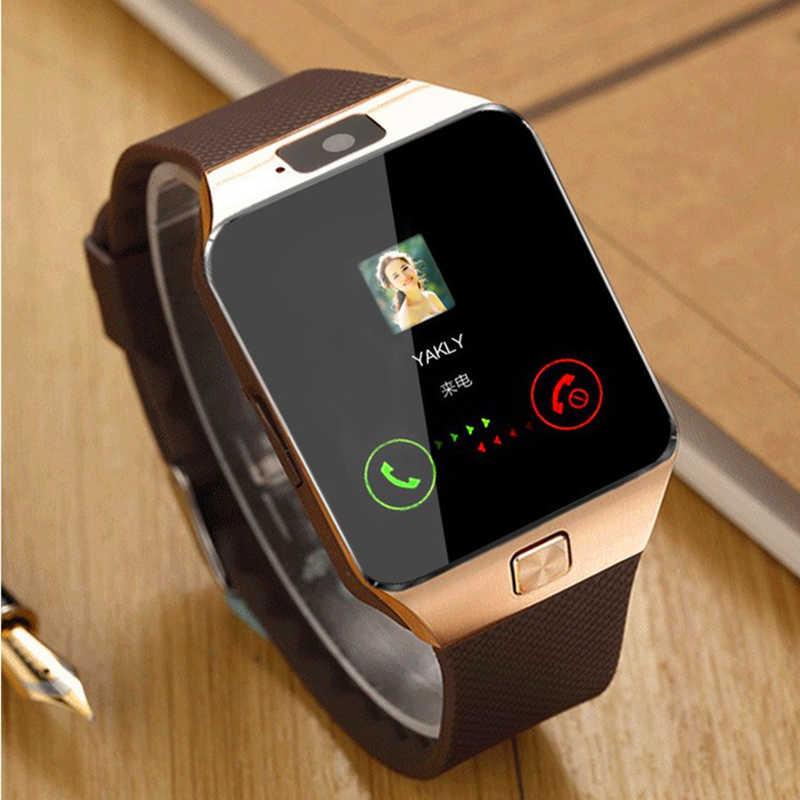 Умные часы телефон smart watch phone dz09 2019