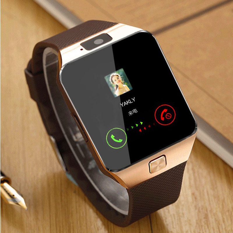 OLLLY Bluetooth Smart <font><b>Watch</b></font> Smartwatch DZ09, <font><b>Support</b></font> <font><b>SIM</b></font> TF Card Camera <font><b>Pedometer</b></font> for iPhone Samsung HUAWEI PK GT08 A1 Q18