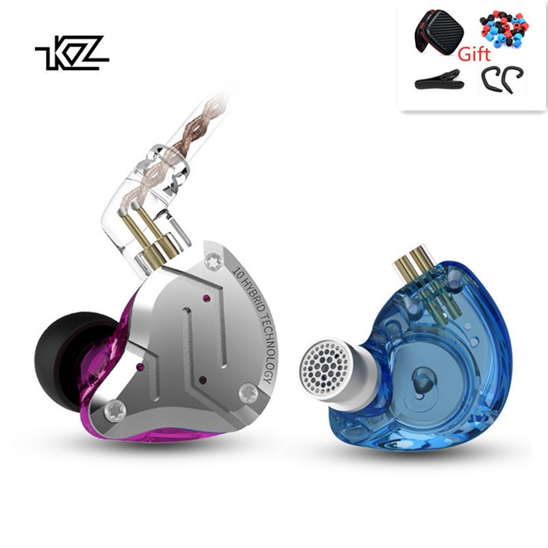 CCAKZ ZS10 RPO In Ear Headset Metal 4ba 1dd Hybrid 10 Units Hifi Bass Ears Monitor