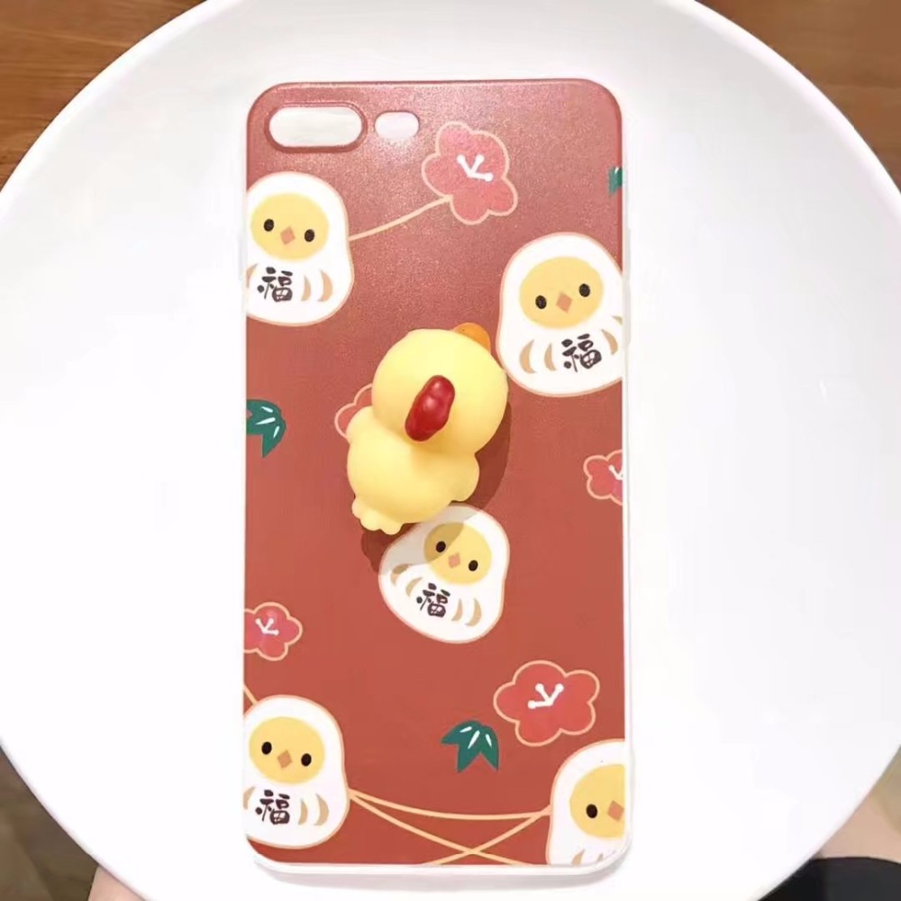 Iphone 6 squishy case - Zxtrby Lovely Cute Chicken Phone Case For Iphone 6 6s Plus 7 7 Plus 3d Squishy