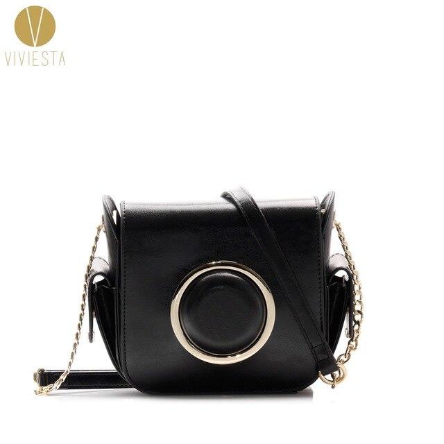 147e4d15a05f GENUINE LEATHER CAMERA CROSSBODY BAG - Women s 2018 DSLR Spring Designer  Fashion Small Cross Body Messenger Shoulder Bag Handbag
