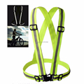High Visibility Safety Clothing Chaleco Reflectante 360 Degrees Neon Reflective Vest Belt Running Cycling Sports Outdoor Clothes