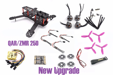 ZMR250 250 250mm Carbon Fiber Frame Kit 2204 motor CC3D Little BEE 20A Pro RC for