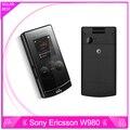 Оригинальный Sony Ericsson W980 Мобильного Телефона Bluetooth 3.15MP Разблокирована 3 Г W980i Мобильный Телефон и Один Год Гарантии