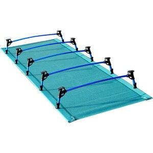 Image 4 - الألومنيوم للطي مخيم السرير المحمولة سرير تخييم قابل للطي خفيفة سرير قابل للطي