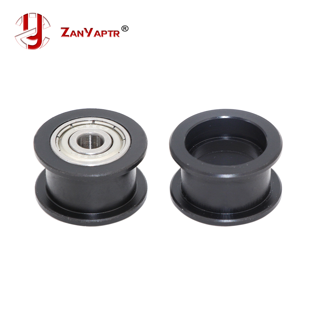 ZANYAPTR Openbuilds Plastic POM Passive Wheel Perlin Idler Pulley With 625 Bearings For 3D Printer Parts