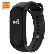 Smart heart rate monitor Bracelet Oximeter Pedometer fitness tracker D.W.L A16 Bluetooth waterproof Smart Wristband pk mi band 2