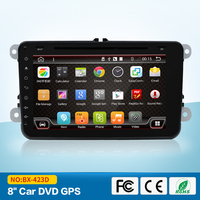 Bosion 2 Din 8 Inch Car DVD Radio Player For VW Golf Skoda Seat Android 6