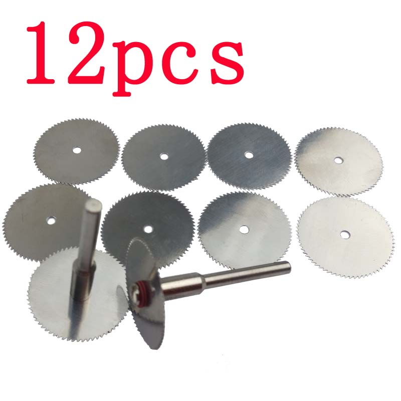 Aliexpress.com : Buy 10x 22mm wood cutting disc dremel rotary tool circular saw blade dremel ...