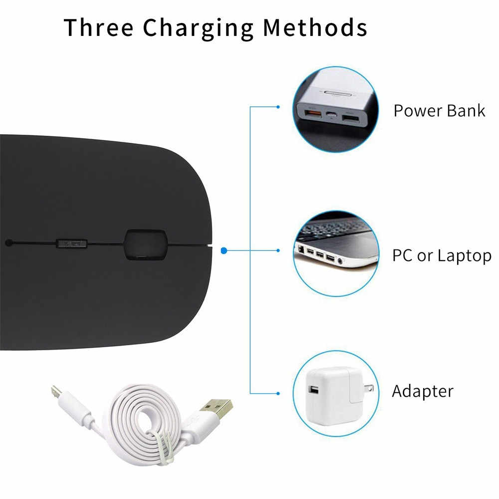 b2fa52a955b ... CARPRIE Bluetooth 4.0 Wireless Optical 4 keys Mouse Slim Silent Wireless  Mice with USB Receiver Mause ...