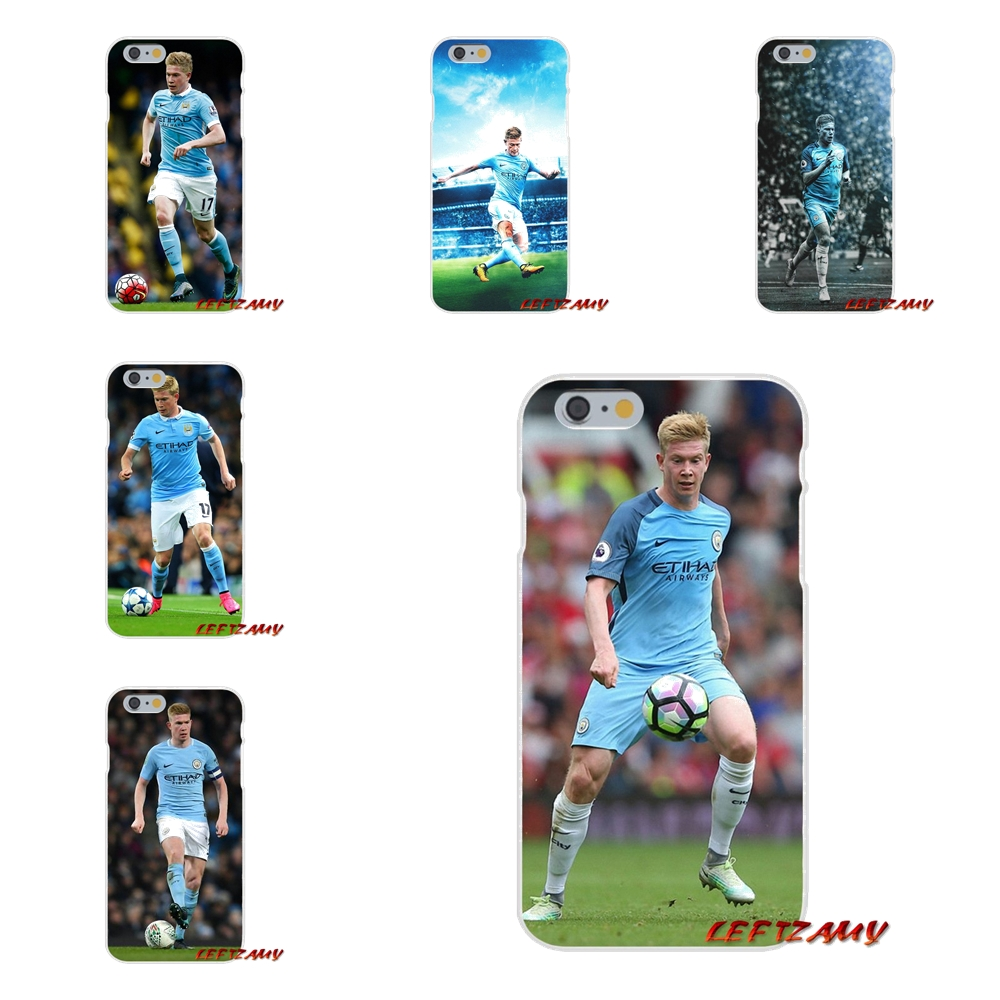 footballer Kevin De Bruyne Slim Silicone phone Case For iPhone X 4 4S 5 5S 5C SE 6 6S 7 8 Plus