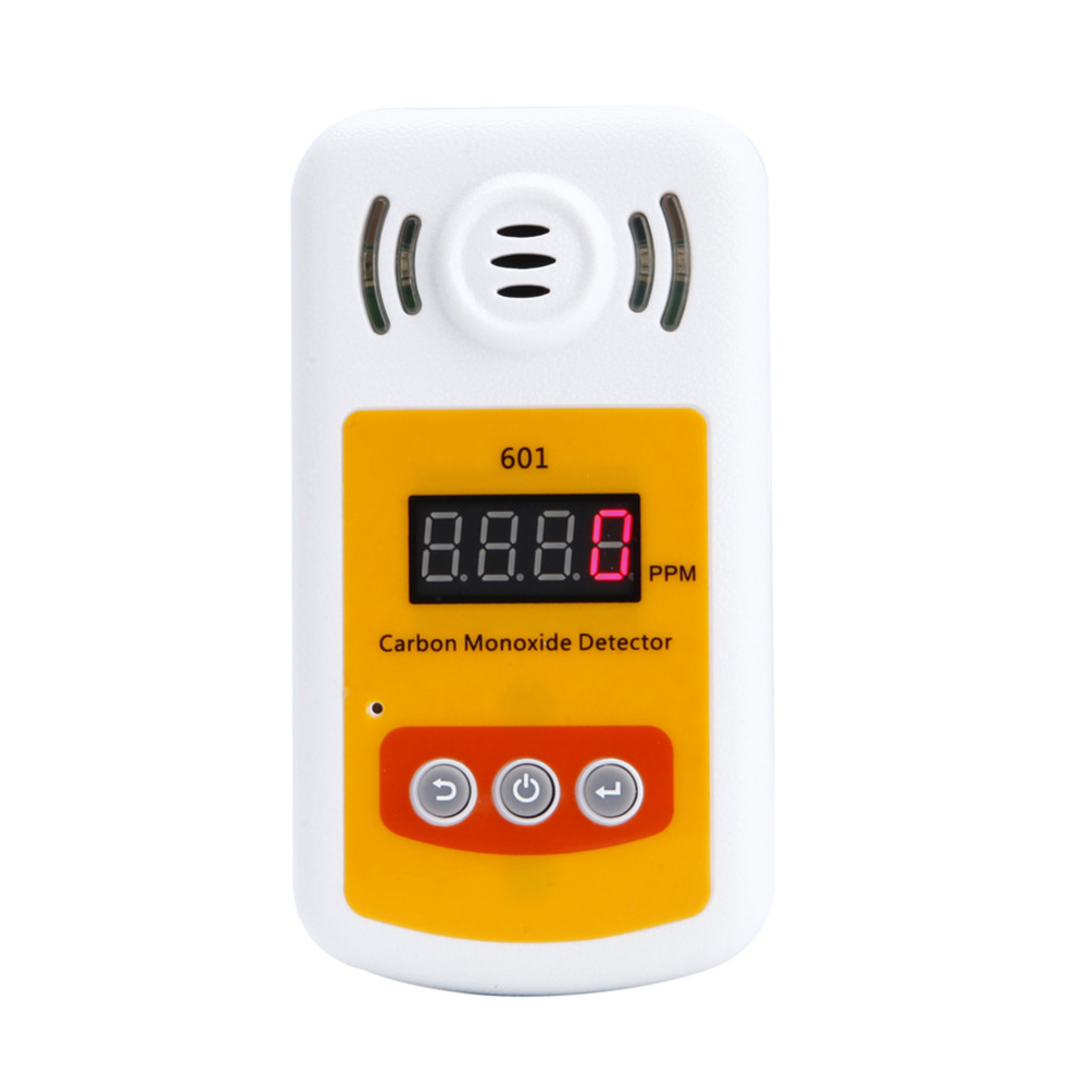 Portable Carbon Monoxide Detector CO Gas Meter Combustible Gas Concentration Display With Sound And Light Alarm Leak Detector  цены