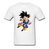 Spring Cool Chibi Tshirt Men Japan Plus Size Dragon Ball Bleach Anime Swag T Shirt White