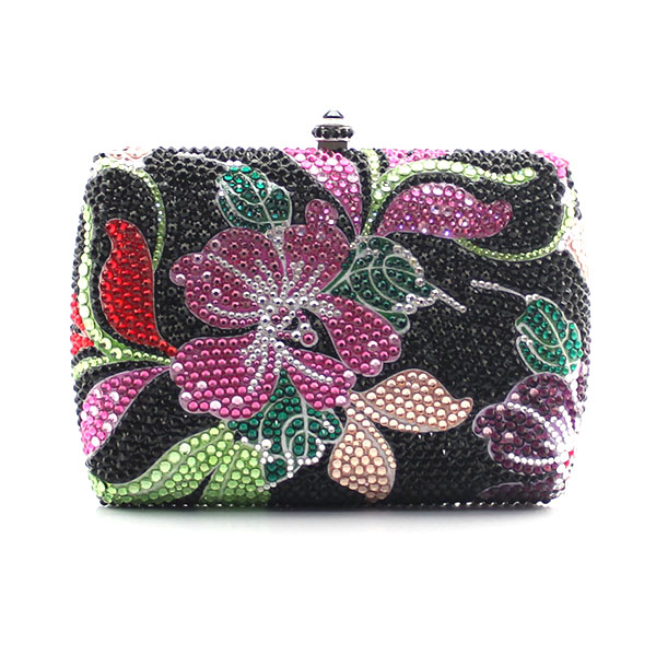 Luxury Crystal Clutches for Women Clutch Evening Bag multi Shape Fancy Flower Pattern Diamond Crystal Clutch Ladies (1015-BF2) mz15 mz17 mz20 mz30 mz35 mz40 mz45 mz50 mz60 mz70 one way clutches sprag bearings overrunning clutch cam clutch reducers clutch