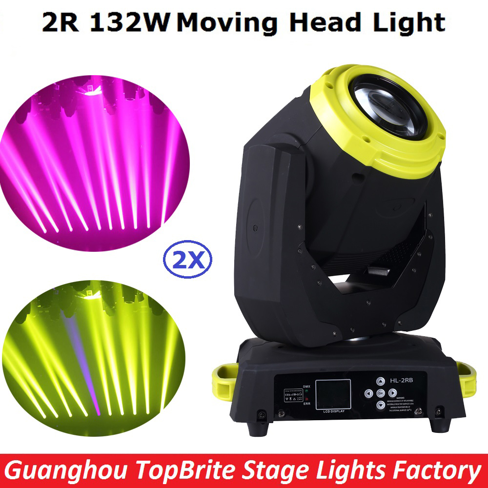 2Pack 132W Beam Moving Head Dj Disco Party Stage Lights High Power 2R 132W Stage Beam Effect Moving Head Light Free Shipping rg mini 3 lens 24 patterns led laser projector stage lighting effect 3w blue for dj disco party club laser