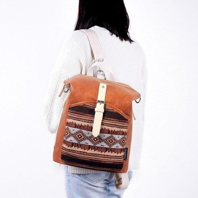 Women Fashion Backpack PU Leather School Bags Bookbag Female Shoulder Bag Mochila Escolar Daypacks for Teenage Girls Top quality
