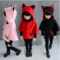 Children's fashion spring jacket girl lovely autumn hooded jacket 3 ~ 7 years old