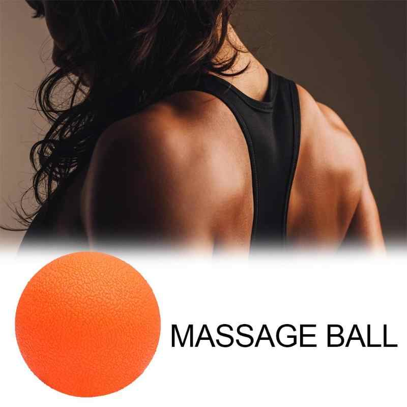Pratik TPE Fıstık Masaj Topu Lacrosse Fitness Topları Terapi Salonu Rahatlatıcı Egzersiz Yoga Topu Serbest Bırakma Kas spor ekipmanı