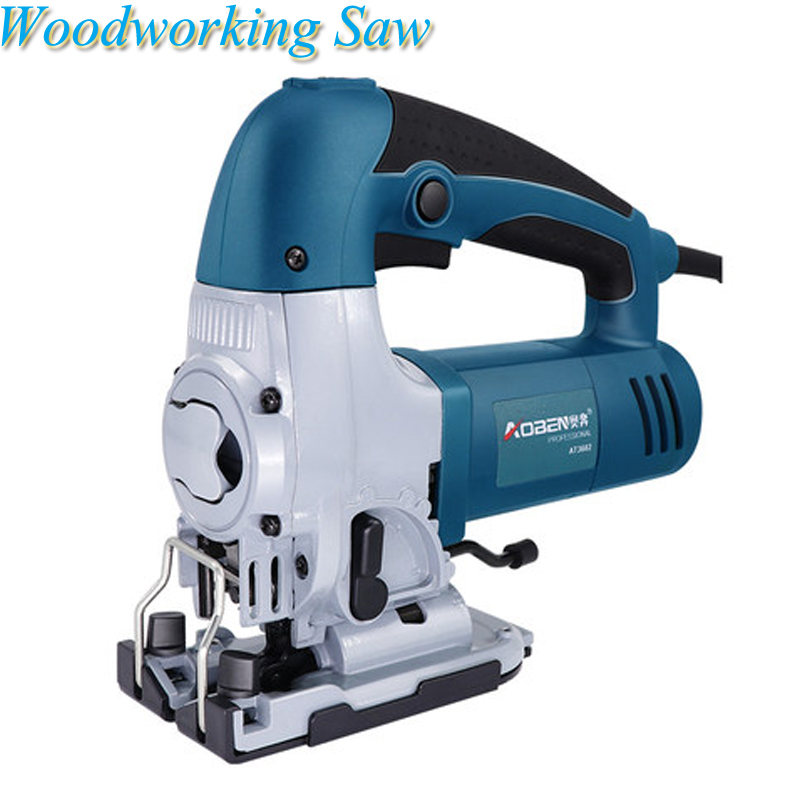 Us 81 57 13 Off 600w Jig Saw Multi Function Chainsaw Mini Board Cutting Machine Handheld Woodworking Saw Tools With 2pcs Saw Blades At3602 In