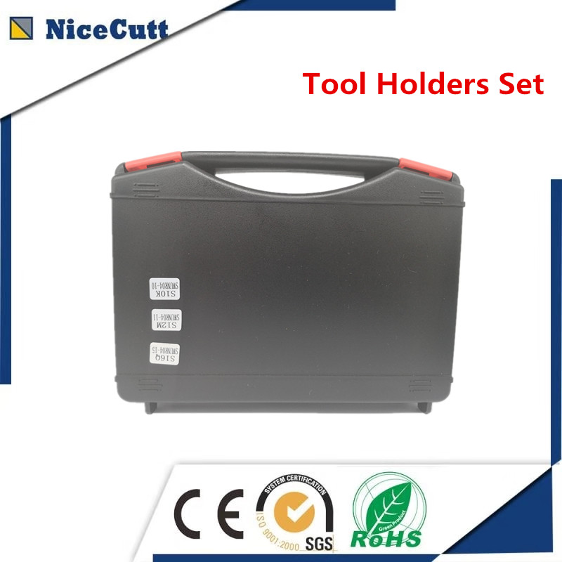 Nicecutt High Quality Tool Holders Set S**-SWUNR04-** Include 3pcs Internal Turning Tool And 10pcs Inserts For Free Shipping
