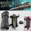 Assassins Creed 4 Black Flag Pirata Escondido Lâmina Edward Kenway Cosplay Manopla
