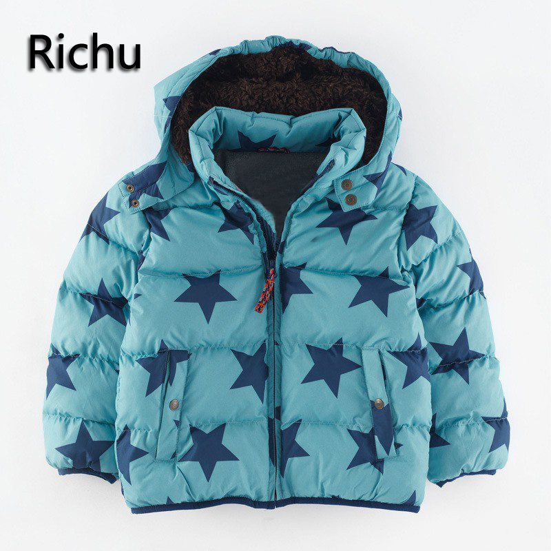2016fashion Children Warm Coat Sporty Kids Clothes winter jacket Detachable cap boys Jackets Autumn and Winter baby overcoat children autumn and winter warm clothes boys and girls thick cashmere sweaters
