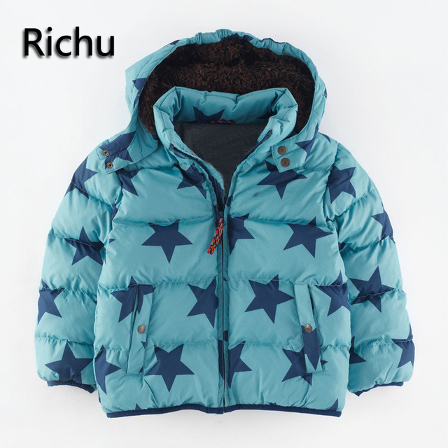 f714964fe 2016fashion Children Warm Coat Sporty Kids Clothes winter jacket ...