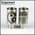 Stainless steel Drip Tip Wide bore stainless steel mouthpiece fit ego ce4 ce5 510 Atomizer